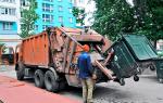 Стоимость вывоза мусора с человека в Новосибирске